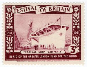 (I.B) Cinderella Collection : Festival of Britain - Festival Ship 3d