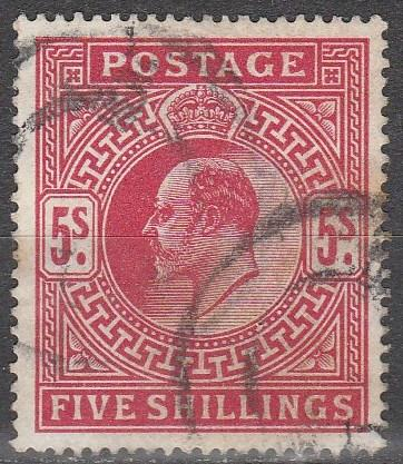 Great Britain  #140  F-VF  Used CV  $225.00  (A8362)