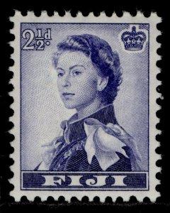 FIJI QEII SG284, 2½d blue & violet, LH MINT.