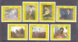 Cuba - Scott #2994-2999 - MNH - SCV $3.65