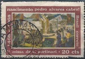 Brazil 1081 (used filler) 20c Pedro Aivares Cabral