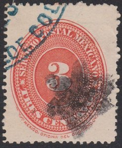 MEXICO 3c with solid black STAR cancel......................................F586