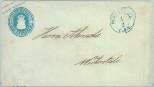 89247 - GERMANY Oldenburg - Postal History - STATIONERY COVER Michel # U2 1861