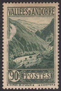 French Andorra 48 MLH CV $4.25