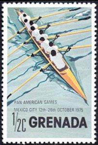 Grenada # 668 mnh ~ 1/2¢ Pan-American Games - Rowing