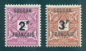 French Sudan #J9-J10  Mint  Scott $14.50