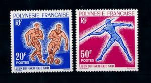 [71569] French Polynesia 1963 Sports Football Athletics  MNH