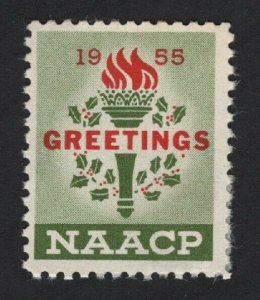 United States 1955 NAACP GREETINGS STAMP F-VF  -  BARNEYS