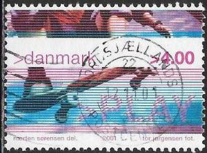 Denmark 1206 Used - Youth Culture - Skateboarding - Socked on the Nose