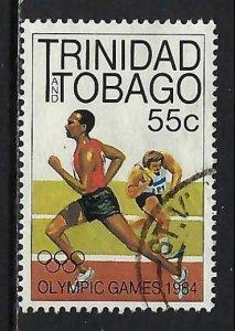 TRINIDAD & TOBAGO 413 VFU RUNNER 356G-2