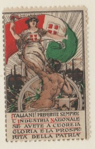 Cinderella or revenue fiscal Stamps 6-19-21- Italy 1900ish mint gum