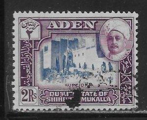Aden Quaiti State of Shihr and Mukalla 10 2r Mosque in Hureidha Used