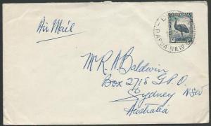 PAPUA NEW GUINEA 1950 AUSTRALIA PERIOD cover BUIN cds......................13413