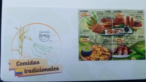 O) 2019 COLOMBIA, AMERICA UPAEP, TRADITIONAL FOODS -CANE CULTURE -LANDSCAPE