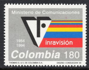1007 - Colombia 1994 - Radio and Television Network - MNH Set