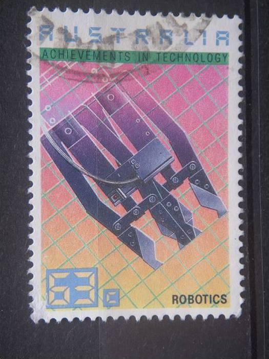 AUSTRALIA, 1987 used 63c, Technology Scott 1238