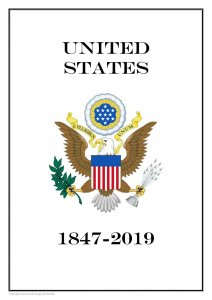 USA United States 1847- 2019  PDF (DIGITAL) STAMP  ALBUM PAGES