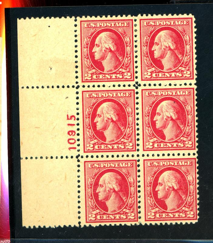 526 MINT Plate Block F-VF OG LH Cat$240