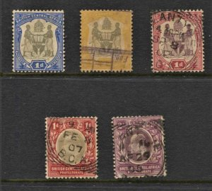 STAMP STATION PERTH  BCA #5 Early  Mint / Used Stamps - Unchecked