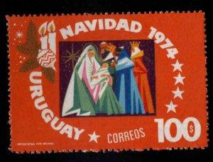 Uruguay Scott 906 MNH** Christmas 1974 stamp