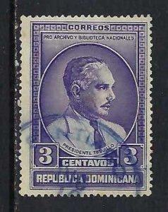 DOMINICAN REPUBLIC 313 VFU O801-8