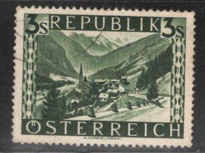 Austria Osterreich Scott 480 Used  stamp