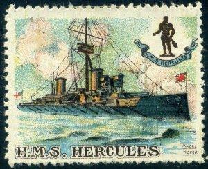 Cinderellas: England Great War Ships - HMS Hercules (Delandre)