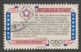 HAITI C434 VFU US BICENTENNIAL S366-6