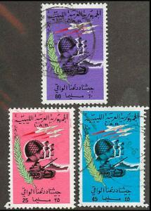 Libya 382-384 Used VF