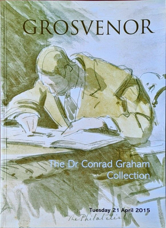 Auction Catalogue Dr CONRAD GRAHAM Revenue Local Cinderella GB QV Telegraph etc.