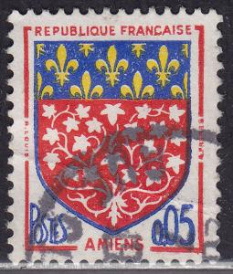 France 1040 USED 1962 Arms of Amiens