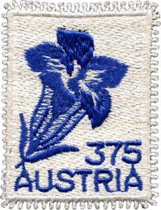 Stamps Austria 2008 - Gentian.