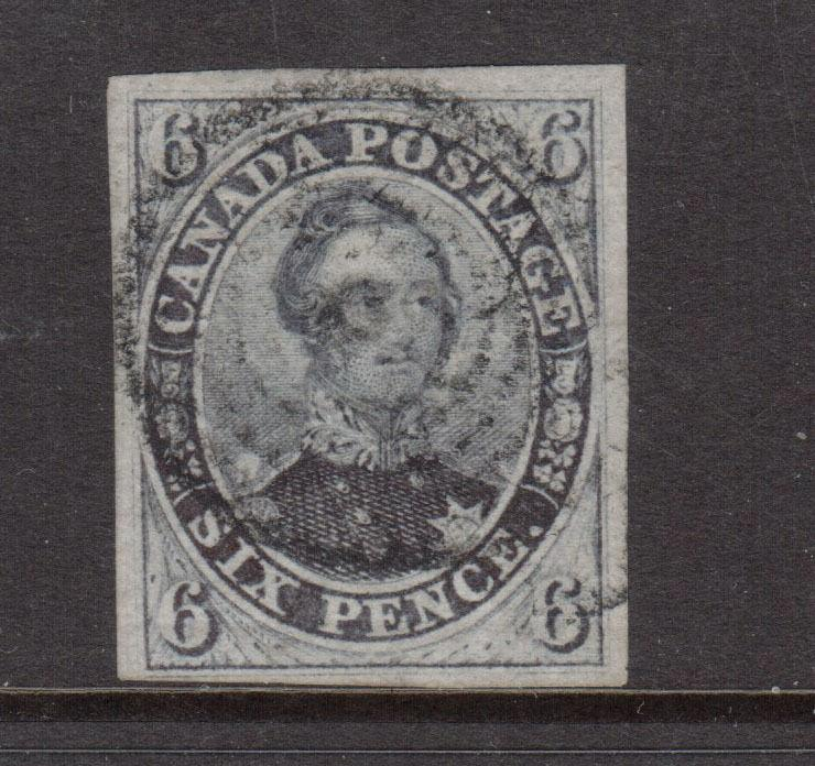 Canada #2 VF Used With Sharp Laid Lines