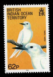 British Indian Ocean Territory BIOT Scott 102 MH* Fairy Tern Bird stamp