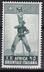 1938 Italian East Africa Scott 5 Fascist Legionary MLH
