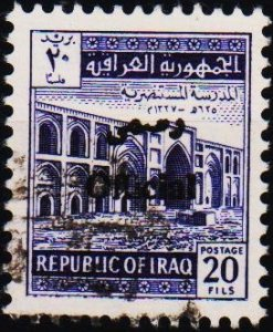 Iraq. 1972 20f (Official) S.G.O1044 Fine Used