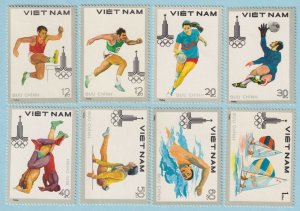VIETNAM 1052 - 1059  MINT NEVER HINGED OG ** NO FAULTS VERY FINE ! - T677