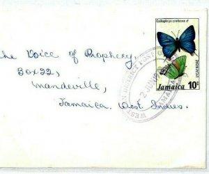 Jamaica Cover *Western District PO* Violet TRD Church Radio 1978 {samwells}CS27