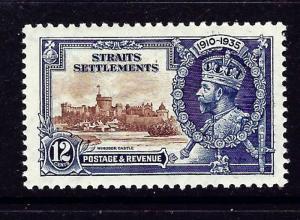 Straits Settlements 215 MH 1935 KGV Silver Jubilee