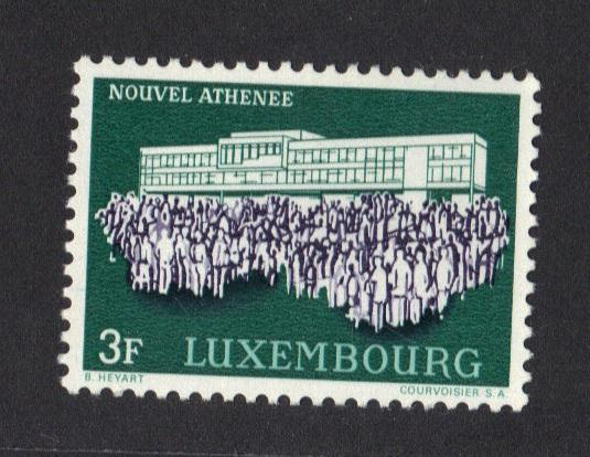 Luxembourg  MNH  1964 New Atheneaum complete