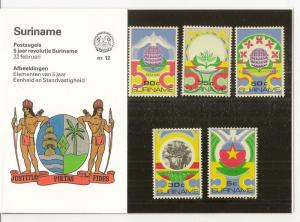 Suriname 1985 Revolution Pres.Pack