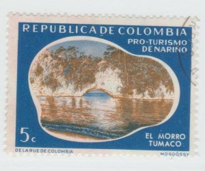Columbia revenue stamp 7-10-21 -- as seen-  no Gum