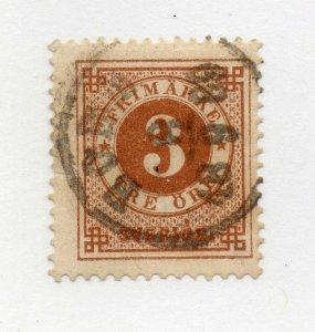 Sweden - Sc# 41 Used      /      Lot 1021024