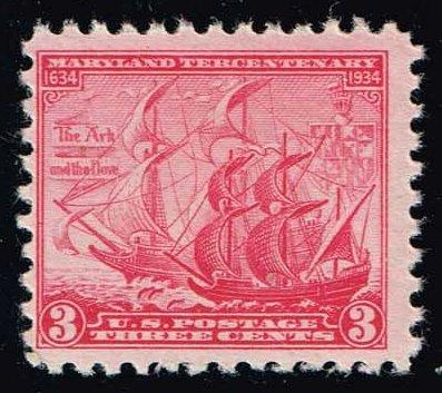 US #736 Maryland Tercentenary; MNH (0.40)