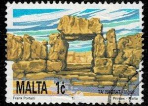 Malta  1991 Tourism Used