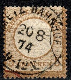 Germany #20 F-VF Used CV $27.50 (X8379)