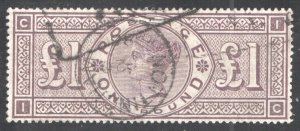 Great Britain Sc.110, Used, VF,  CV $3000  ...  2480152