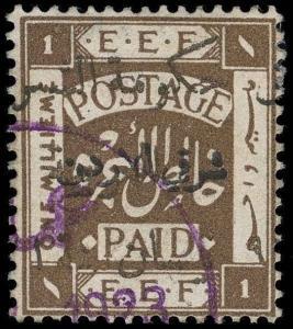 Jordan Scott 63 Gibbons 54 Used Stamp