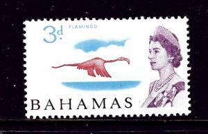 Bahamas 208 MLH 1965 Flamingo