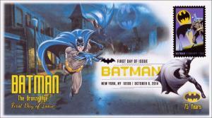 NEW Batman The Bronze Age Digital Color Postmark FDC